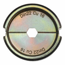 Krimpelő betét DIN22 Cu 16