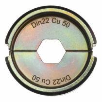 Krimpelő betét DIN22 Cu 50