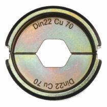 Krimpelő betét DIN22 Cu 70