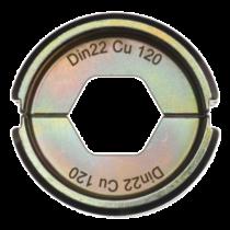 Krimpelő betét DIN22 Cu 120