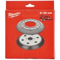 Alaplap 150 mm átmérőjű, 6 lyukú gumigyűrűvel excenter csiszolóhoz 1 db