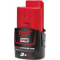 Milwaukee M12 B3, 3.0 Ah akkumulátor   4932451388