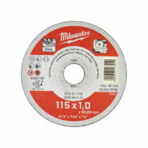 Milwaukee Vágókorong fémhez WSCS41/ 115 x 1 mm | ​4932451474