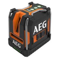 AEG három vonalas zöld fényű szintezőlézer lehajtható lábakkal | CLG330-K (4935472255)