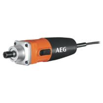 AEG 500 W egyenes csiszoló, kulcs, 6 mm befogó patron, 4 m kábel | GS 500 E (4935412985)