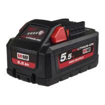 Milwaukee M18 5.5 Ah akkumulátor | 4932464712