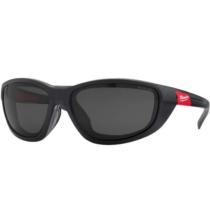 Milwaukee prémium védőszemüveg tömítéssel, sötétített | 4932471886