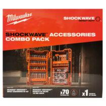 Milwaukee Shockwave XL box (PZ) bitkészlet és 152 mm mágneses bittartó