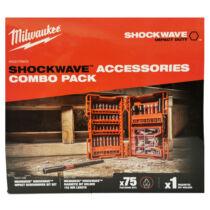 Milwaukee Shockwave XL box (TX) bitkészlet és 152 mm mágneses bittartó