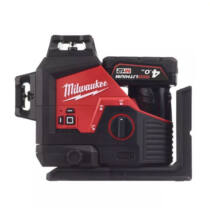 Milwaukee M12 zöld 360° 3 síkú lézer | M12 3PL-401C (4933478102)