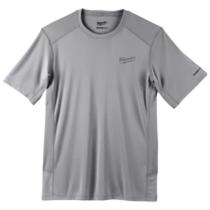 Milwaukee WORKSKIN™ technikai rövid ujjú póló - szürke, L | WWSSG (L) (4933478196)