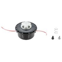 RAC115 RYOBI ReelEasy™ fej 2,4 mm damillal (piros) és két csavarral egyenes és hajlított nyélhez