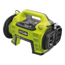 Ryobi 18 V pumpa, Nagynyomású cső, alacsony nyomású cső, 3 x fúvóka, akkumulátor és töltő nélkül | R18I-0 (5133001834)