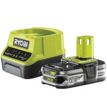 Ryobi 18 V töltő+1x1,5 Ah lítium-ion akkumulátor   RC18120-115 (5133003357)