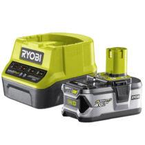 RC18120-140 RYOBI 18 V töltő+1x4,0 Ah lítium-ion akkumulátor (5133003360)