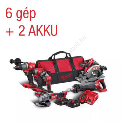 Milwaukee M18 FUEL Erőcsomag | FPP6C2-502B (4933464592)