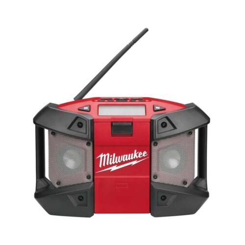 Milwaukee M12 rádió MP3 csatlakozással, akku és töltő nélkül | C12 JSR-0 (4933416365)