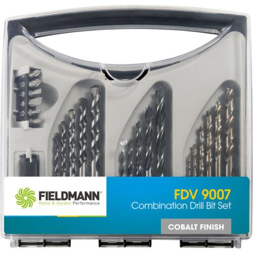 Fieldmann 23 db-os fúrószár és bitkészlet | FDV 9007 (50001377)