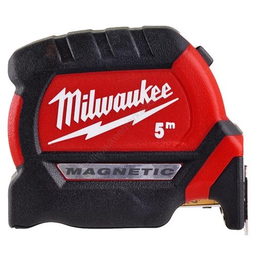 Milwaukee 3. generációs prémium mágneses mérőszalag, 5 m   4932464599