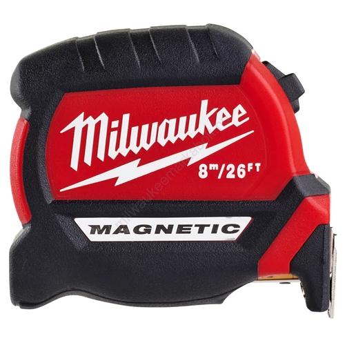 Milwaukee mágneses mérőszalag,gen III, 8 m / 26 ' | 4932464603