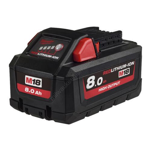 Milwaukee M18 8.0 Ah akkumulátor | 4932471070