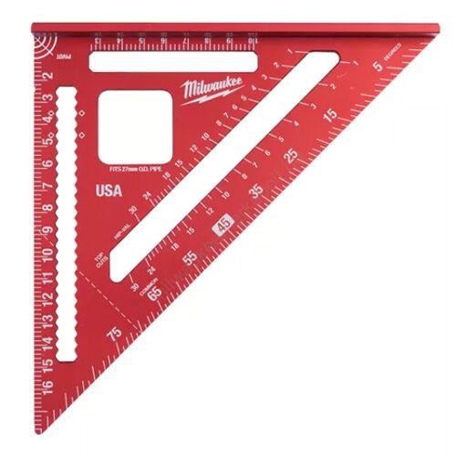 Milwaukee Derékszögű háromszög vonalzó metrikus - 1 db | 4932472124
