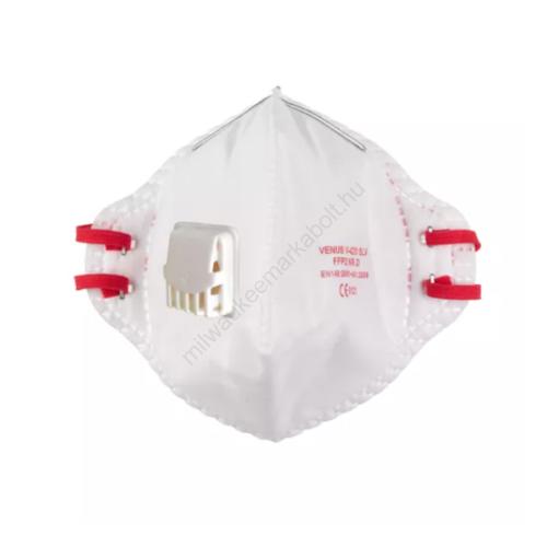 Milwaukee FFP2 szelepes légzésvédő maszk, összehajtható   4932478801