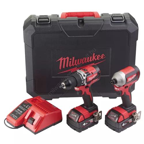 Milwaukee M18™ kompakt szénkefe nélküli erőcsomag   4933464536