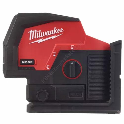 Milwaukee M12™ zöld keresztvonal- és pontlézer   M12 CLLP-0C (4933478101)