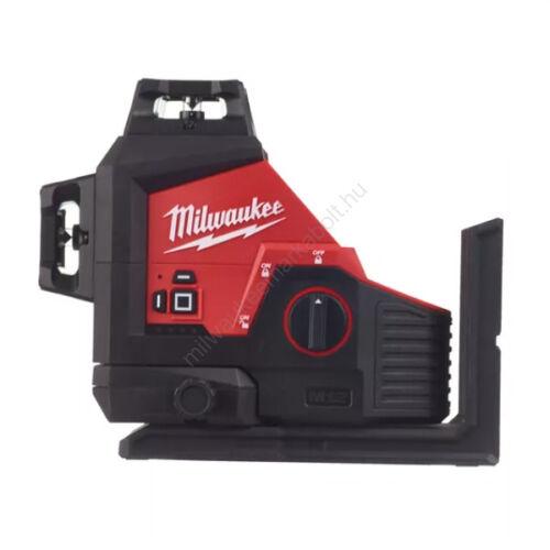Milwaukee M12™ zöld 360° 3 síkú lézer | M12 3PL-0C (4933478103)