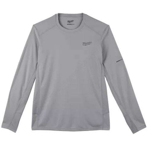 Milwaukee WORKSKIN™ Technikai hosszú ujjú póló - szürke, M | WWLSG (M) (4933478189)