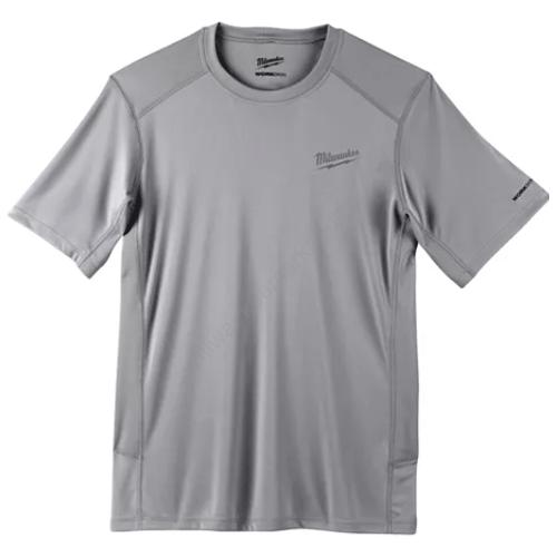 Milwaukee WORKSKIN™ technikai rövid ujjú póló - szürke, XL | WWSSG (XL) (4933478197)