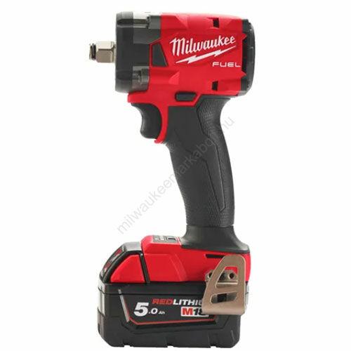 Milwaukee M18 FUEL™ ½″ kompakt ütvecsavarozó biztosítógyűrűvel | M18 FIW2F12-502X (4933478444)