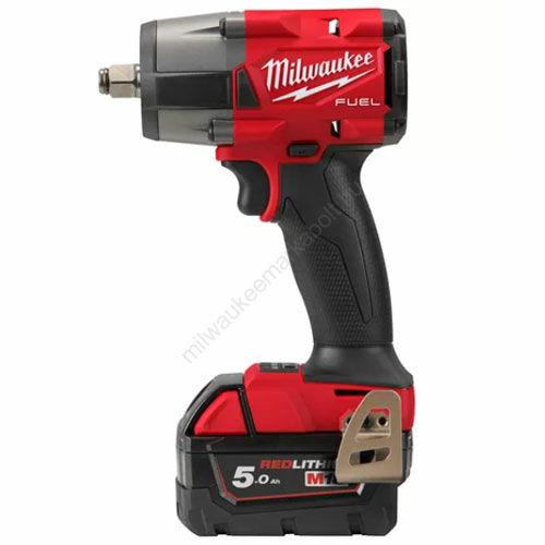Milwaukee M18 FUEL™ ½″ közepes nyomatékú ütvecsavarozó biztosítógyűrűvel | M18 FMTIW2F12-502X (4933478450)