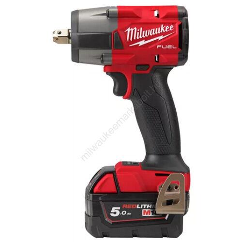 Milwaukee M18 FUEL közepes nyomatékú ütvecsavarozó ütközőcsappal | M18 FMTIW2P12-502X (4933478453)