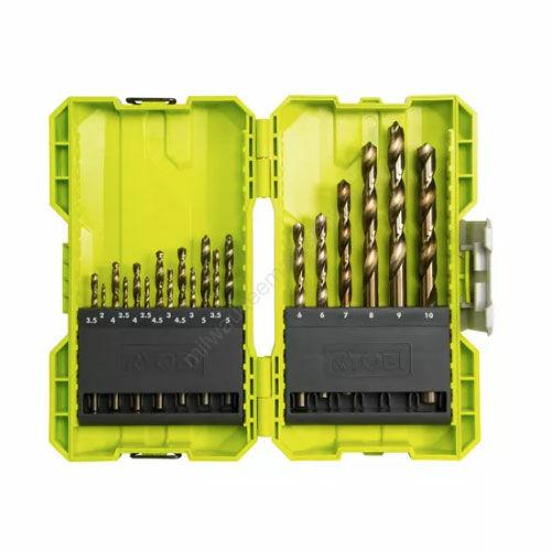 Ryobi HSS fém fúrók - 19 darab | RAK19HHS2 (5132004390)