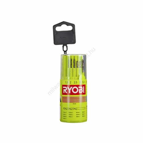 Ryobi HSS fúrókészlet - 13 db | RAK13HSS (5132004523)
