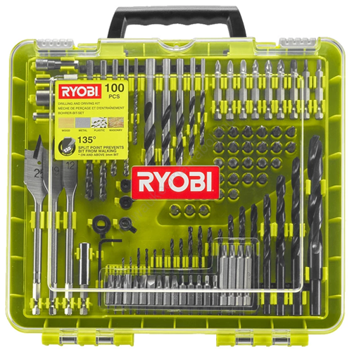 Ryobi 100 darabos fúrócsavarozó bit készlet | RAKDD100 (5132004666)