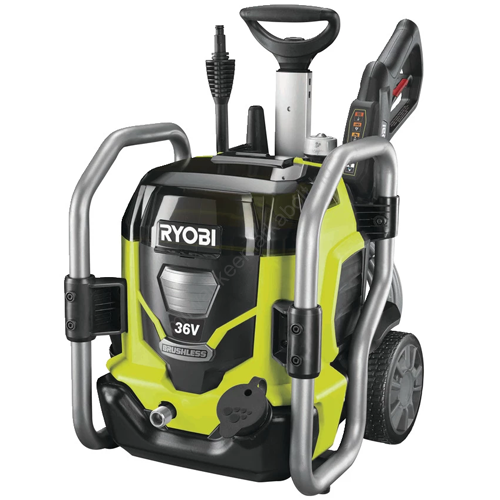 Ryobi 36 V nagynyomású mosó, 120 bar, 1 x 4,0 Ah akkumulátor, töltő   RPW36X120HI40 (5133004298)