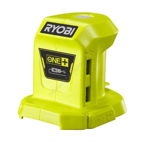 Ryobi 18 V USB-töltő (powerbank), akkumulátor  és töltő nélkül | R18USB-0 (5133004381)
