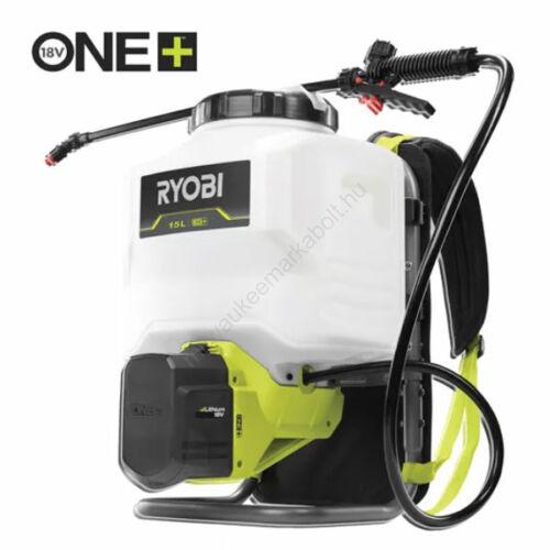 Ryobi 18 V One Plus™ háti permetező, 15 L, akku és töltő nélkül | RY18BPSA-0 (5133004573)