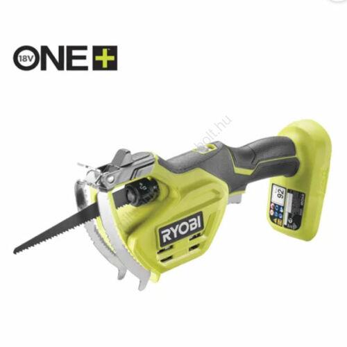 Ryobi 18 V One Plus™ kézi ágvágó fűrész, akkumulátor és töltő nélkül | RY18PSA-0 (5133004594)